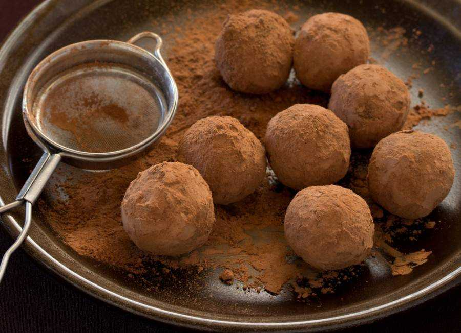 how to make truffles with cocoa powder