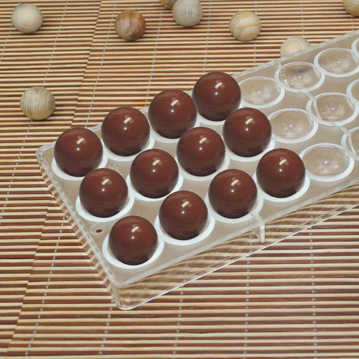 Chocolate Truffle Polycarbonate Mold