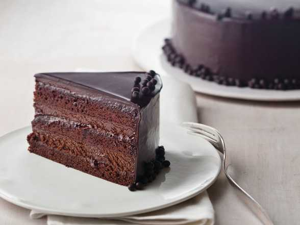 easy chocolate truffle cake recipe