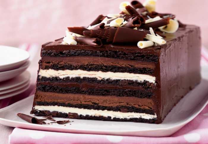recipe for chocolate truffle cake