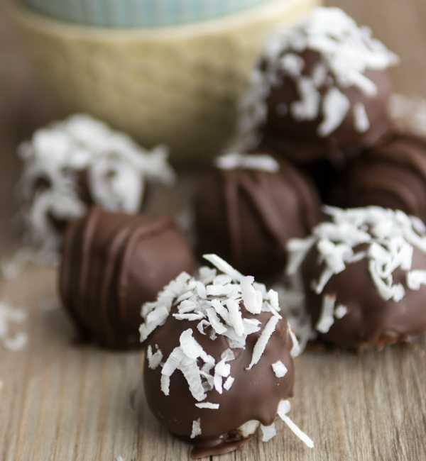 chocolate coconut truffle recipe