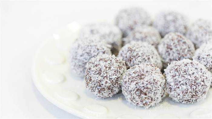 coconut chocolate truffles recipe