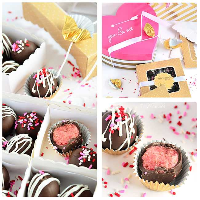chocolate strawberry truffle