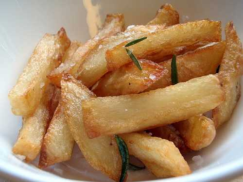 truffle oil french fries