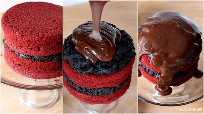 Red Velvet Cake Sour Cream Frosting