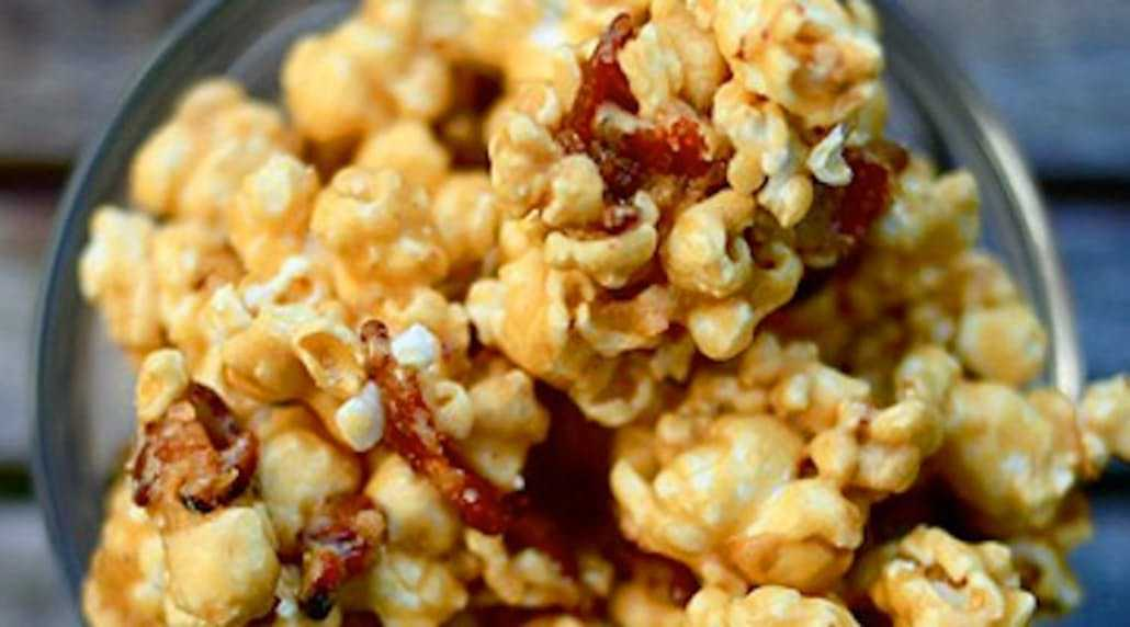 Hearty Bacon Popcorn