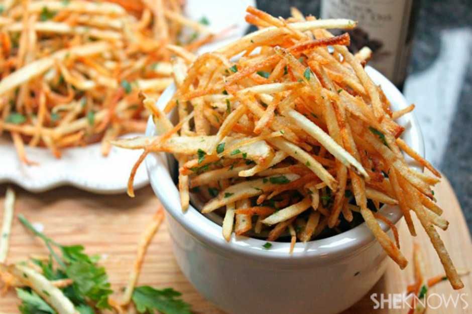 Truffle Oil Shoestring Fries