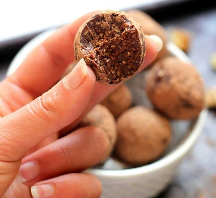 Raw Diet Mexican Cocoa Truffles