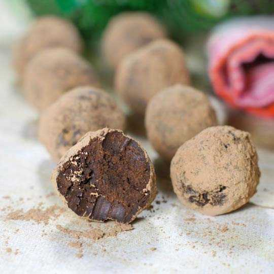 simple chocolate truffle recipe
