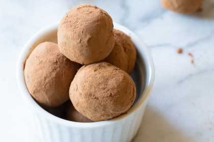 cocoa powder truffles