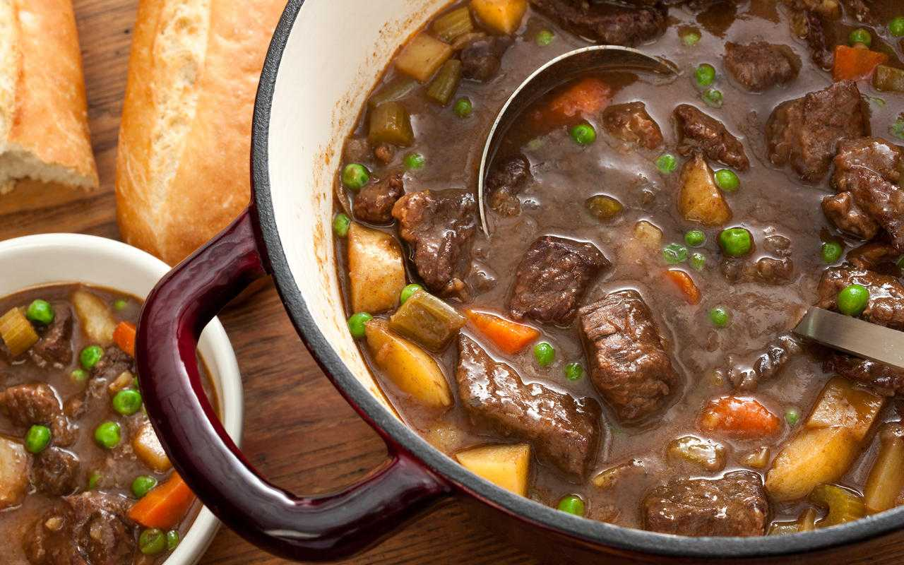 Stew with Truffle Oil Recipe