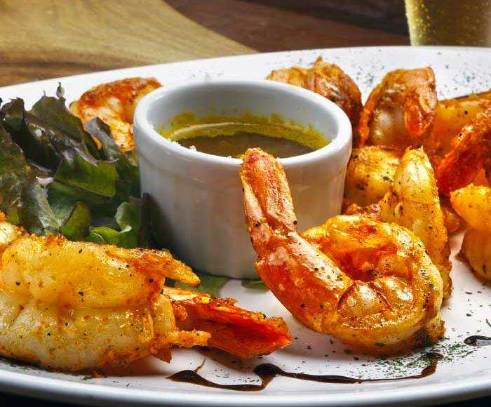 Grilled Truffle Shrimp