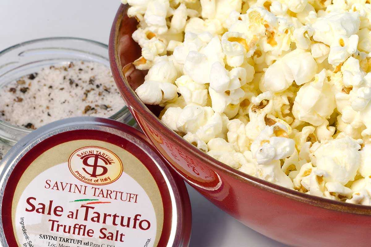 Super Simple Extra Truffle Popcorn
