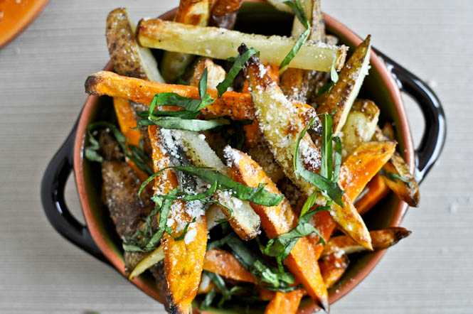 autumn truffle fries