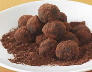 Curry Chocolate Truffles
