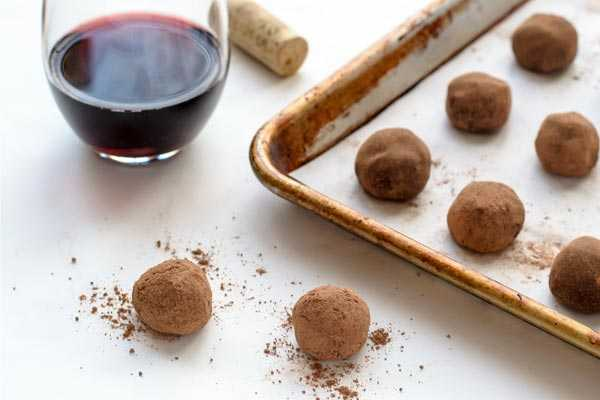 dark chocolate truffle recipes