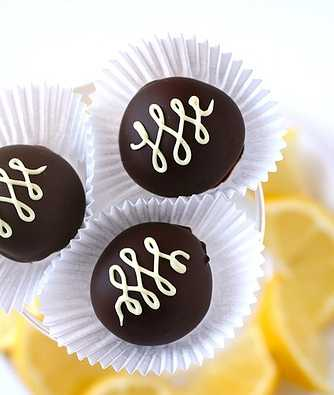 Lemon Ginger Truffles